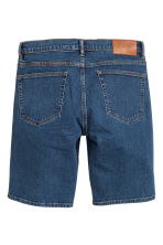 Shorts in jeans - Blu denim scuro - UOMO | H&M IT 3