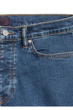 Shorts in jeans - Blu denim scuro - UOMO | H&M IT 4