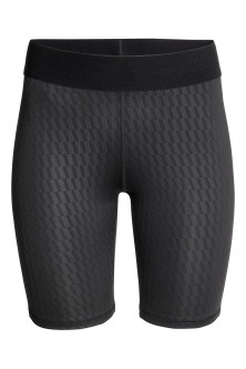 Knee-length sports tights