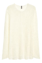 Knitted jumper - White - Men | H&M CN 2