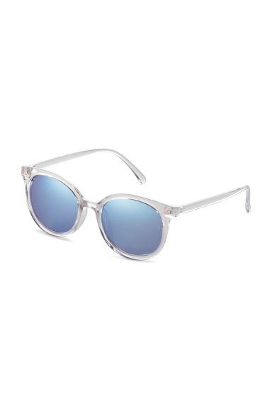 lunettes de soleil transparent bleu h m fr. Black Bedroom Furniture Sets. Home Design Ideas
