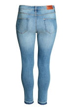 H&M+ Slim ankle ripped jeans - Denim blue - Ladies | H&M CN 3