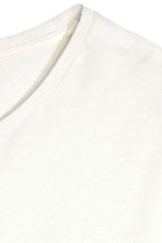Long T-shirt - White - Men | H&M 4