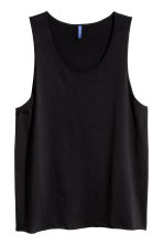 Vest top - Black - Men | H&M CN 2