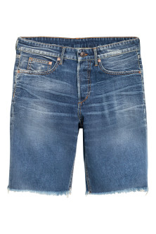 Denim shorts Boyfriend low