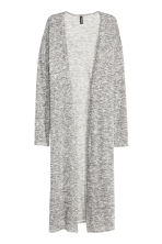 Long cardigan - Black marl - Ladies | H&M GB 2