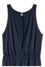 Sleeveless jumpsuit - Dark blue - Ladies | H&M CN 3