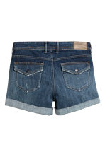 Shorts di jeans Low waist - Blu denim scuro - DONNA | H&M IT 3