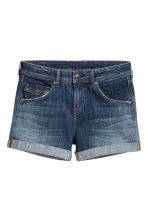 Shorts di jeans Low waist - Blu denim scuro - DONNA | H&M IT 2