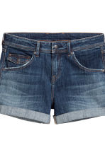 Shorts di jeans Low waist - Blu denim scuro - DONNA | H&M IT 4