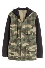 Cargo jacket - Khaki/Patterned - Men | H&M CN 2
