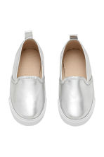 Slip-on trainers - Silver - Kids | H&M CN 2