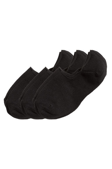 3-pack liner socks - Black - Ladies | H&M IE 1