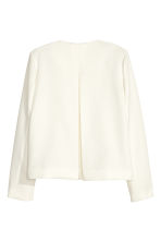 Textured jacket - White - Ladies | H&M CN 2