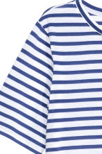 Jersey top - Dark blue/Striped - Ladies | H&M GB 3