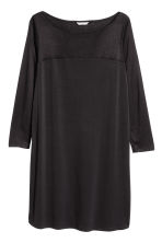 H&M+ Boat-necked jersey tunic - Black - Ladies | H&M CN 2