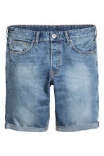Shorts di jeans - Blu denim chiaro - UOMO | H&M IT 2