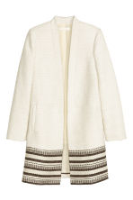 Short coat - Natural white - Ladies | H&M CN 2
