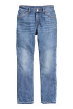 Straight Regular Ankle Jeans - Denim blue - Ladies | H&M CN 2