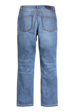 Straight Regular Ankle Jeans - Denim blue - Ladies | H&M CN 3