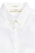 Short-sleeved shirt - White - Men | H&M CN 3