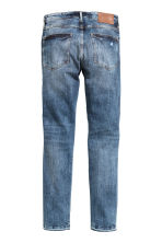 Skinny Low Trashed Jeans  - Denim blue - Men | H&M CN 3