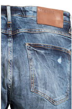 Skinny Low Trashed Jeans  - Denim blue - Men | H&M CN 4