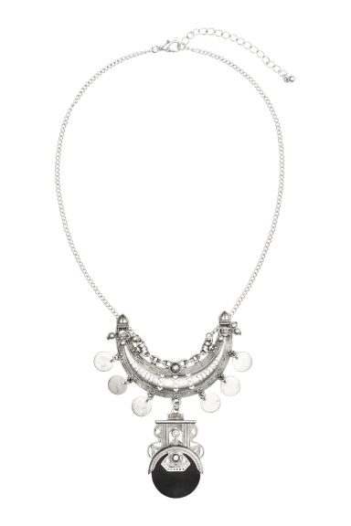 Short necklace - Silver - Ladies | H&M CN 1