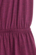 Jersey playsuit - Burgundy - Ladies | H&M CN 3