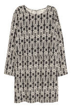 Patterned dress - Black - Ladies | H&M CN 2