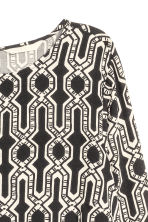 Patterned dress - Black - Ladies | H&M CN 4