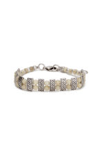 3-pack bracelets - Silver/Natural white - Ladies | H&M CN 2