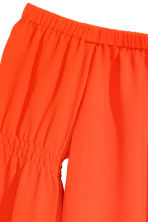 Off-the-shoulder blouse - Orange - Ladies | H&M CN 3