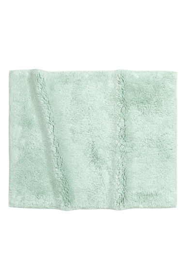 Bath mat - Mint green - Home All | H&M CN