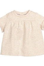 Top and puff pants - Light beige marl - Kids | H&M CN 3