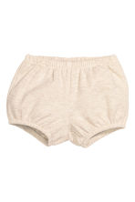 Top and puff pants - Light beige marl - Kids | H&M CN 2