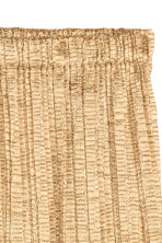 Pleated skirt - Gold - Ladies | H&M GB 3