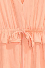 Crinkled blouse - Apricot - Ladies | H&M CN 3
