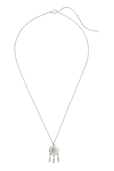 Necklace with a pendant - Silver - Ladies | H&M CN 1