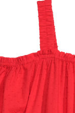 Off-the-shoulder dress - Red - Ladies | H&M GB 3
