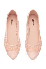 Ballet pumps - Powder pink - Ladies | H&M CN 2