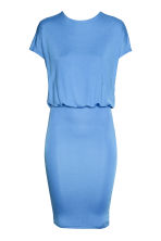 Backless dress - Blue - Ladies | H&M CN 1