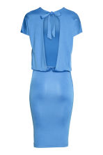 Backless dress - Blue - Ladies | H&M CN 2