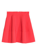 Flared skirt - Coral red - Ladies | H&M CN 2