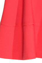 Flared skirt - Coral red - Ladies | H&M CN 3