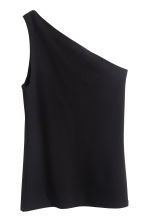 One-shoulder top - Black - Ladies | H&M CN 2