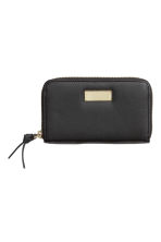 Leather purse - Black - Ladies | H&M CN 1