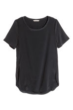 Top in seta - Nero - DONNA | H&M IT 2
