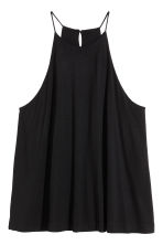 Sleeveless jersey top - Black - Ladies | H&M CN 2