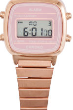 Digital watch - Rose gold - Ladies | H&M CN 3